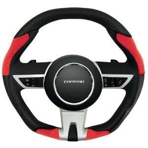 Grant 61203 2010 Camaro Auto Trans. Black Leather/Red Perf Automotive