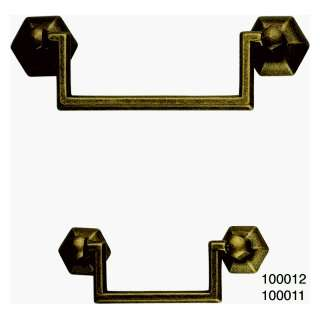 Classic Hardware 100011 03 Antique Brass Distressed Cabinet Drop Pull