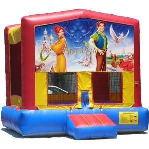 Anatasia Bounce House Inflatable Jumper Art Panel Theme