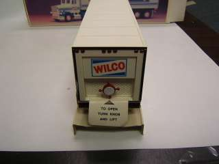 Wilco Gasoline Toy Truck & Racer battery headlights MIB