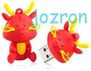 Kingston Dragon 16GB 16G USB Pen Flash Drive Disk Year Limited Cute