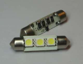 No Error LED License plate Light Mercedes 2005 C230 Kompressor
