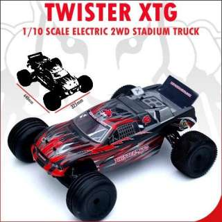 Redcat Racing Twister XTG 1/10 Scale 2 Wheel Drive Stadium Truck RC