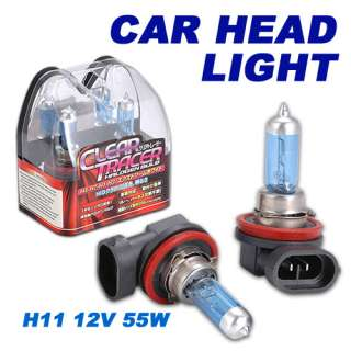 H11 12V 55W HALOGEN CAR HEADLIGHT LIGHT BULB NEW