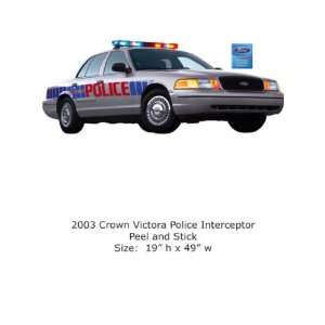 4Walls Ford Collection 2003 Crown Victoria Police Interceptor FD1654SA
