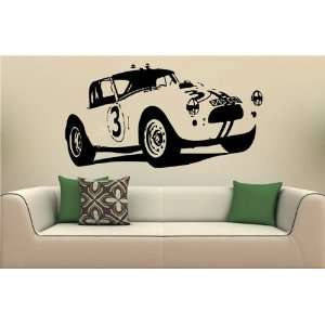 Wall MURAL Vinyl Decal Sticker Car AC COBRA S. 1499