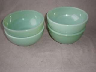 FIRE KING JADEITE CEREAL BOWLS