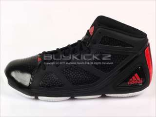 Adidas Dunkfest Black/Black/Red Basketball Mens 2011