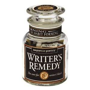 com Magnetic Poetry Writers Remedy Word Magnets   Jar of 300 Word