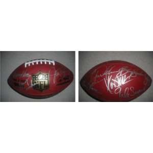 Pittsburgh Steelers Signed Legends Football (Hamm, Harris