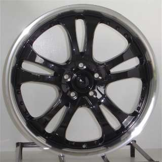 18 Inch Black Wheels Rims Honda Accord Camry 5 Lug