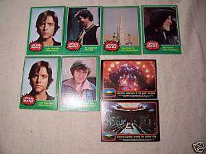 STAR WARS Trading Cards  1977 & 78   20th Century Fox