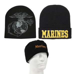 Military Cold Weather Winter Watch Cap US Marine Corps Knit Hat