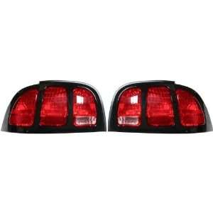 OE Replacement Ford Mustang Driver Side Taillight Assembly