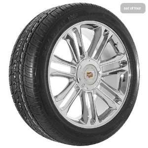 Inch Chrome 55 Series Wheels Rims and Tires for Cadillac Automotive