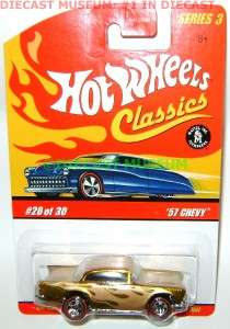 57 1957 CHEVY BEL AIR HOT WHEELS DIECAST CLASSICS 3