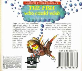 The Fish Who Could Wish PC CD kids multimedia adventure