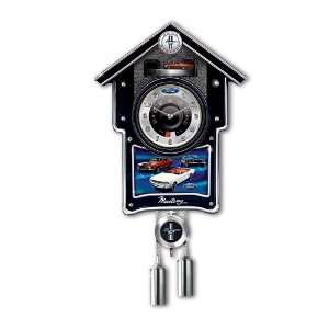 Ford Mustang Cuckoo Clock by The Bradford Exchange