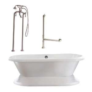 Giagni Wescott Tub with Plinth and Floor Mounted Faucet