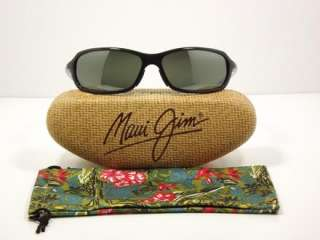 Maui Jim Whitecap Gloss Black w/Grey Polarized MJ107 02