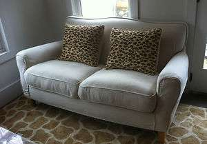 Slipcovered Linen Sofa/Loveseat from Shabby Chic/Rachel Ashwell