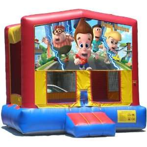 Jimmy Neutron Bounce House Inflatable Jumper Art Panel Theme Banner