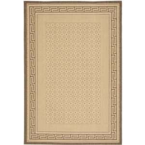 Courtyard CY1927 3001 Indoor Outdoor Natural/ Brown Rug (5