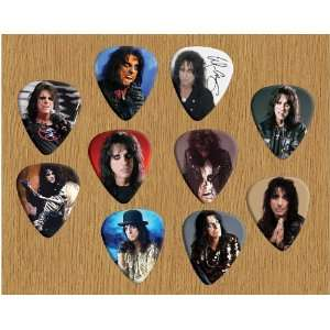 Alice Cooper Loose Guitar Picks X 10 (Limited to 500 sets