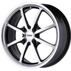TSW Alloy Wheels Sepang 4 Matte Black Machined Wheel (17x7