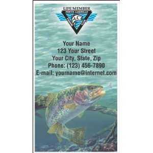 North American Fishing Club   Life Member Contact Cards