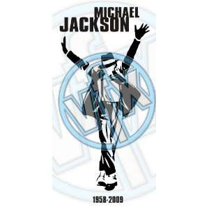 MICHAEL JACKSON MEMORIAL DECAL