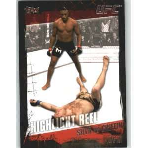 2010 Topps UFC Trading Card # 188 Anderson Silva vsForrest