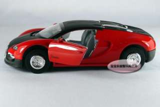 New Bugatti Vayron 132 Alloy Diecast Model Car With Sound&Light Red