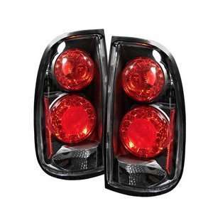 00 03 Toyota Tundra Black Tail Lights Automotive