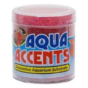 Zoo Med Aqua Accents Radical Red Sand 8 oz