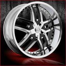 20 inch VCT Lombardi chrome wheels Rims 5x110 +40