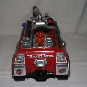 2004 Tonka Extreme Team Rescue Fire Truck   Lights & Sound
