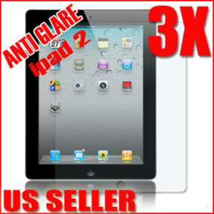 3x Matte Anti Glare Screen Protector Film Skin Shield For ipad 2 2G
