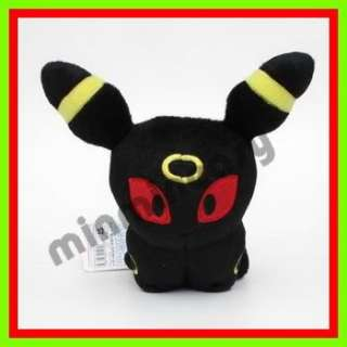 Takara Tomy Pokemon Pikachu UMBREON 6 Plush Figure