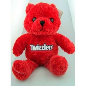 Red Twizzlers Candy Teddy Bear Easter Bunny Holiday Plush