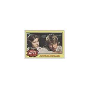 com 1977 Star Wars (Trading Card) #154   Princess Leia comforts Luke