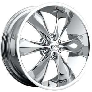 Foose Legend 6 22x9.5 Chrome Wheel / Rim 6x5.5 with a 35mm