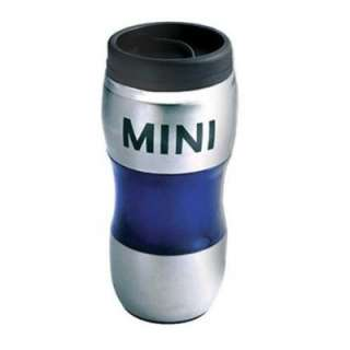 100% AUTHENTIC MINI COOPER TRAVEL MUG BLUE