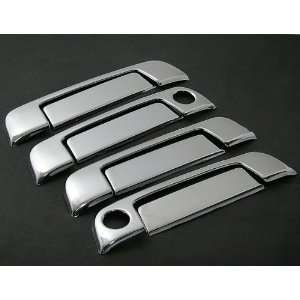 Easy Stick on Chrome Trim Door Handle Cover Kit with Passenger Side