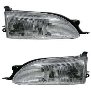 95 96 TOYOTA CAMRY OEM STYLE HEADLIGHTS Automotive