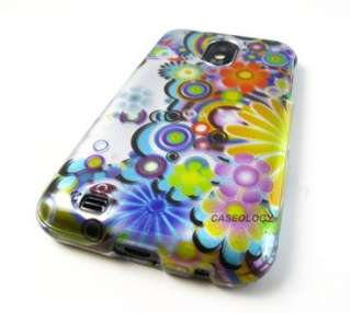 FLOWERS HARD CASE COVER SAMSUNG GALAXY S II 2 EPIC TOUCH 4G ACCESSORY