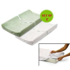 Summer Infant Ultra Plush Change Pad Cover SET OF 2 1
