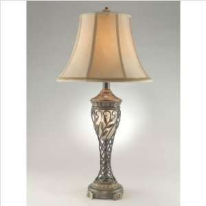 Dale Tiffany Lighting RT70326 Emil Two Light Table Lamp in