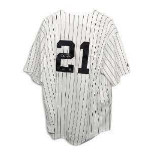 New York Yankees Pinstripe Majestic Jersey