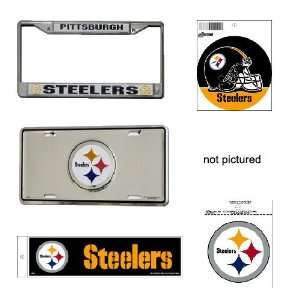 Pittsburgh Steelers NFL Car Combo Pack